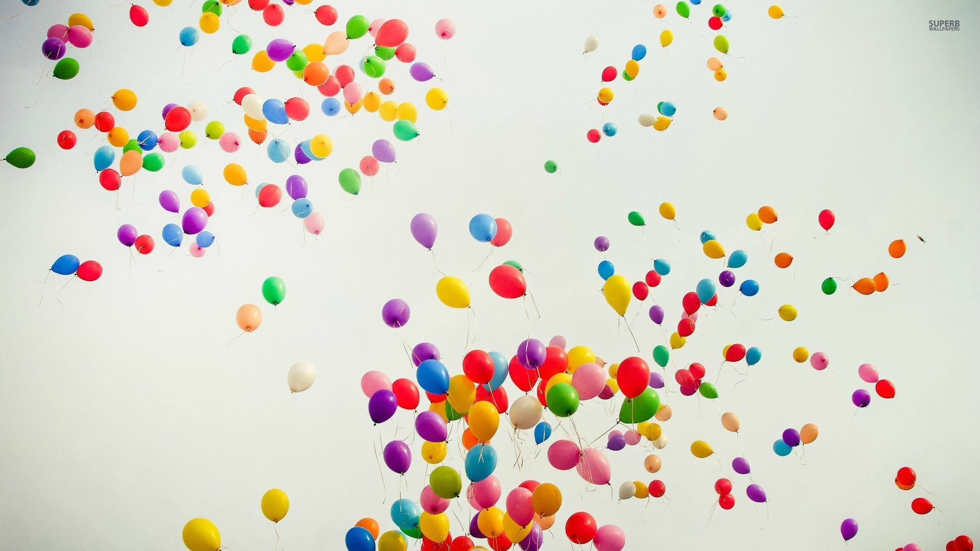 Colorful Balloon Wallpaper