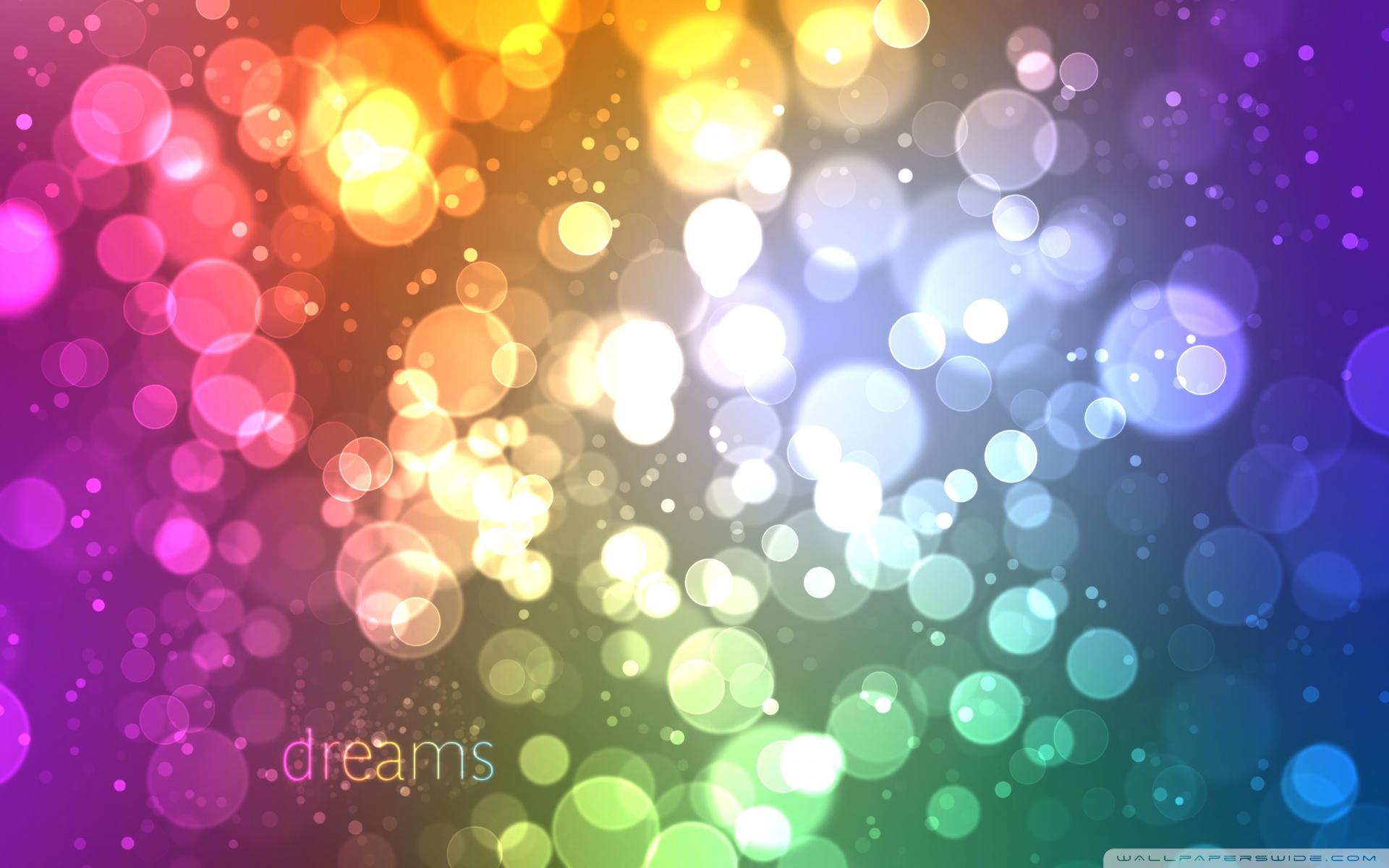 Colorful Bokeh Background Colorful Bokeh x