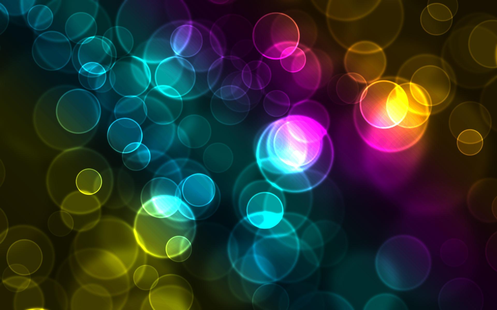 Colorful Bokeh Wallpaper