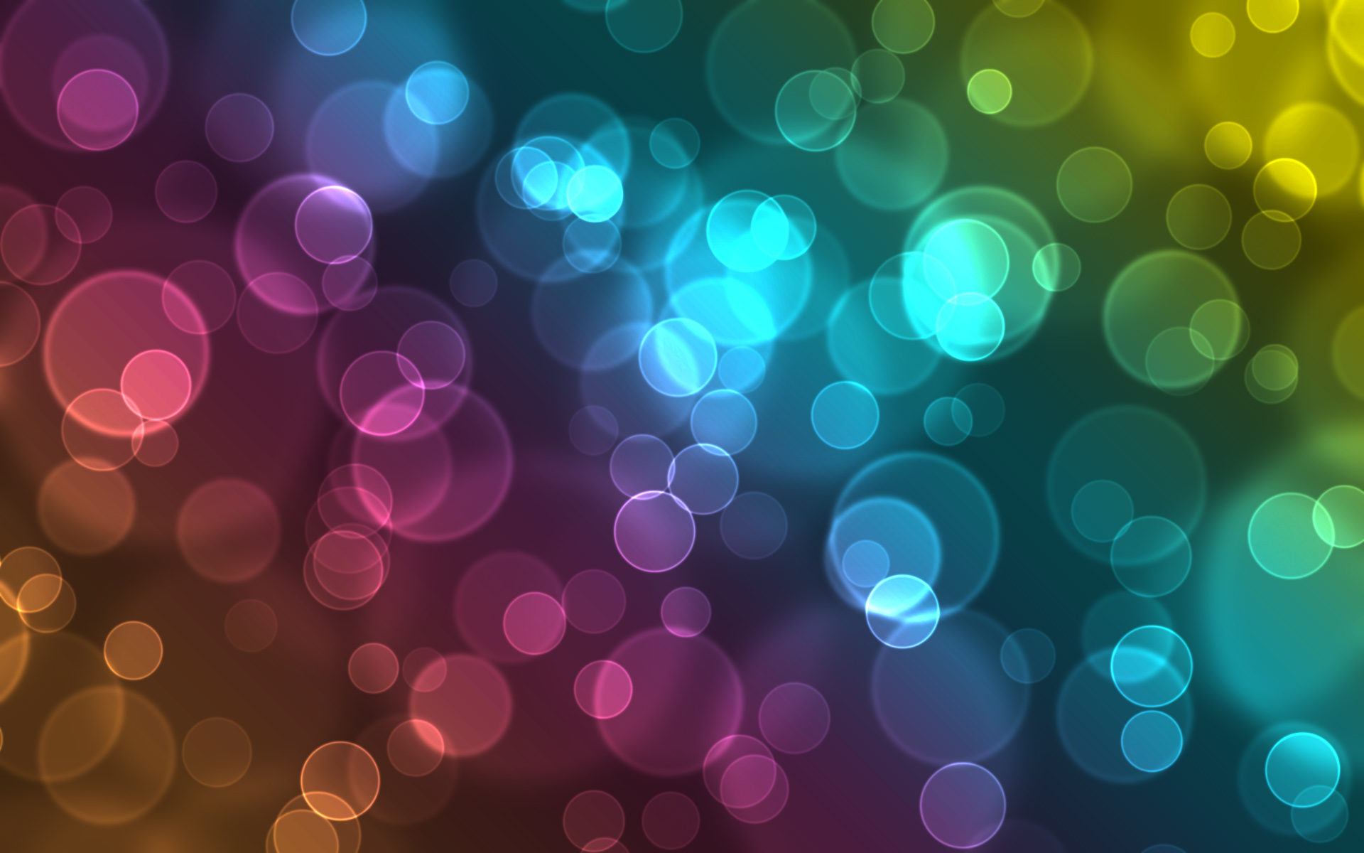 Colorful Bubbles Wallpaper