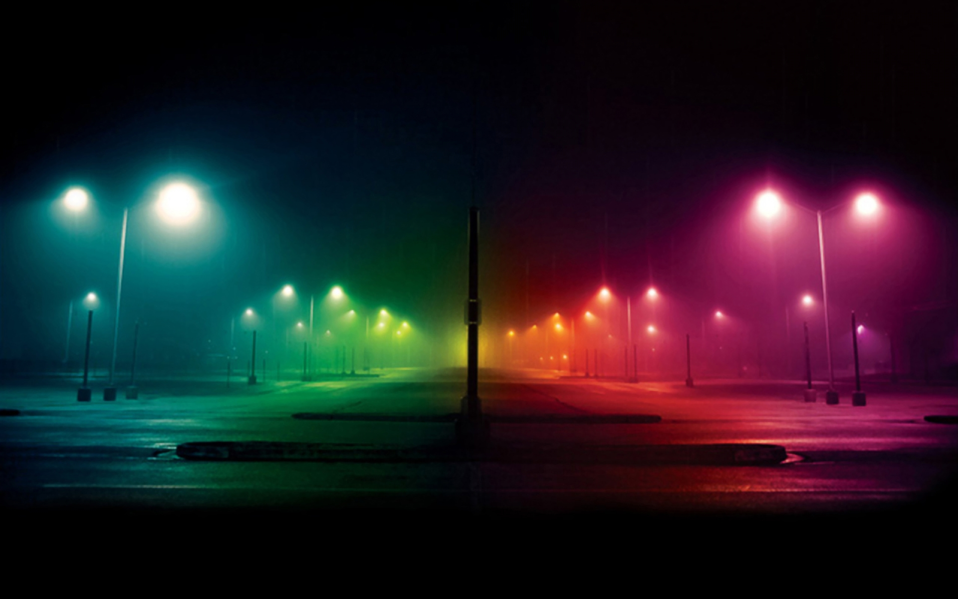 Colorful City Lights Picture Backgrounds 8674 High Resolution