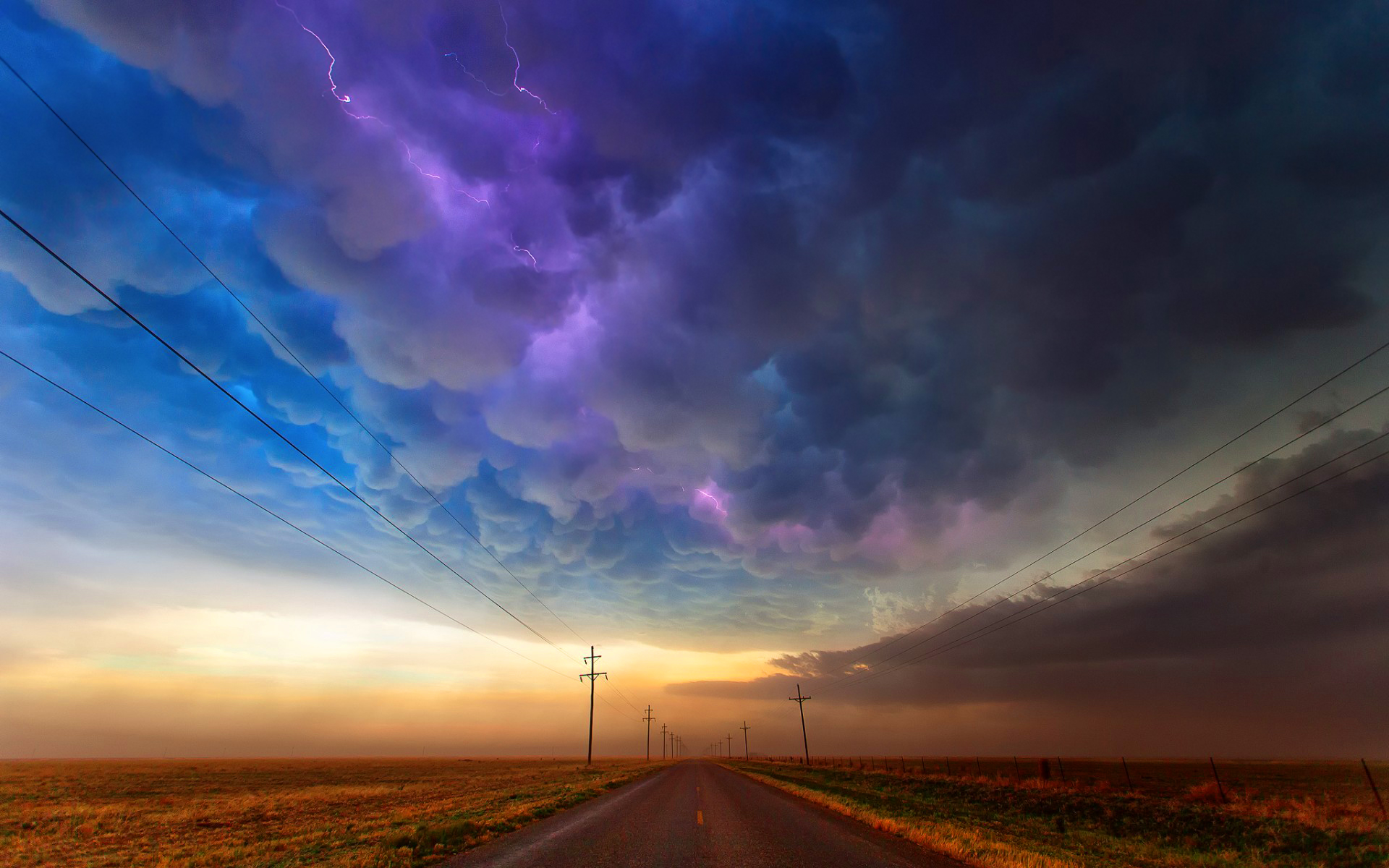 Colorful cloudy sky Wallpapers Pictures Photos Images. «