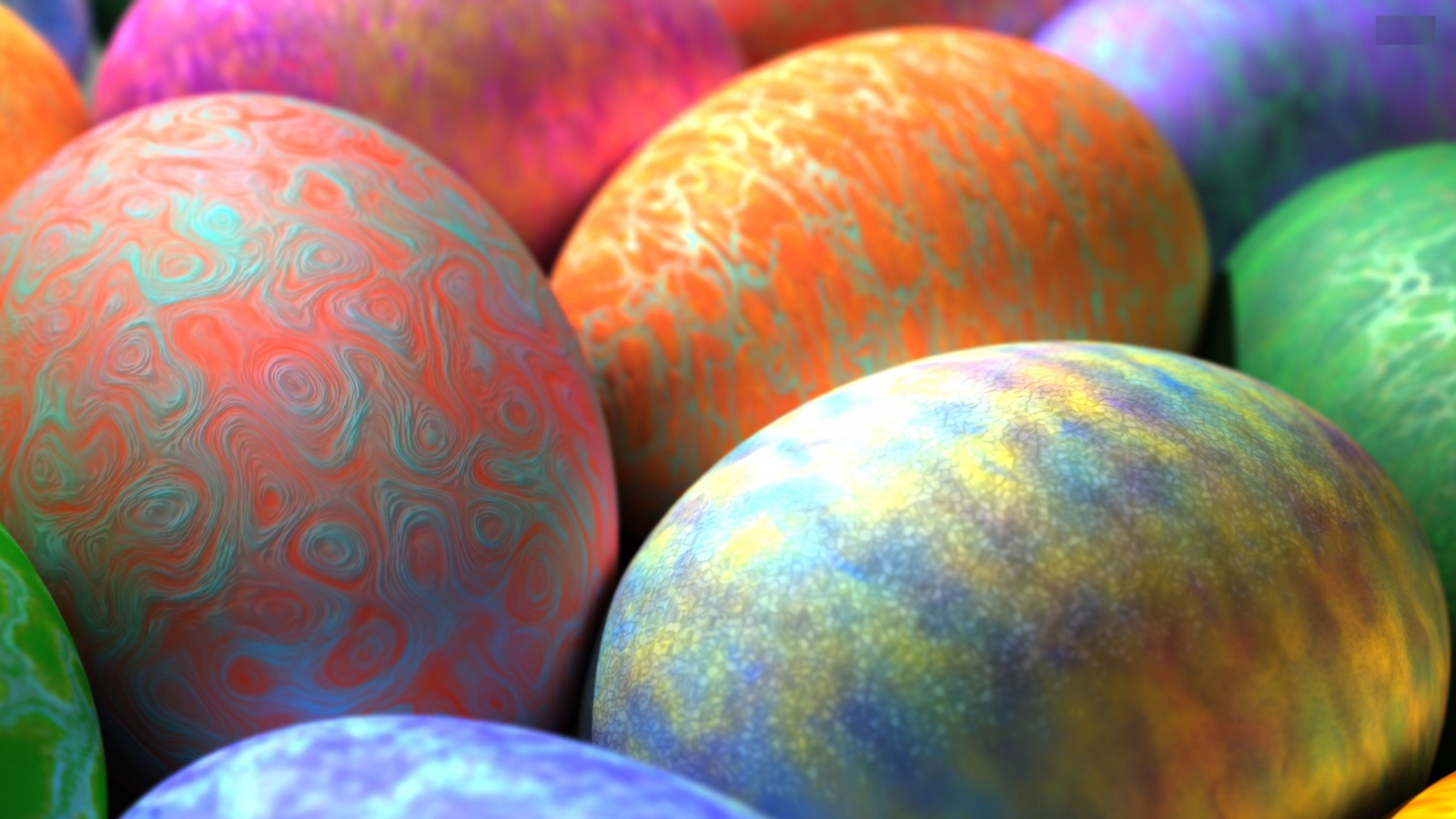 Download Colorful Easter Eggs — 2560x1440 · 1920x1080, 1600x900 ...