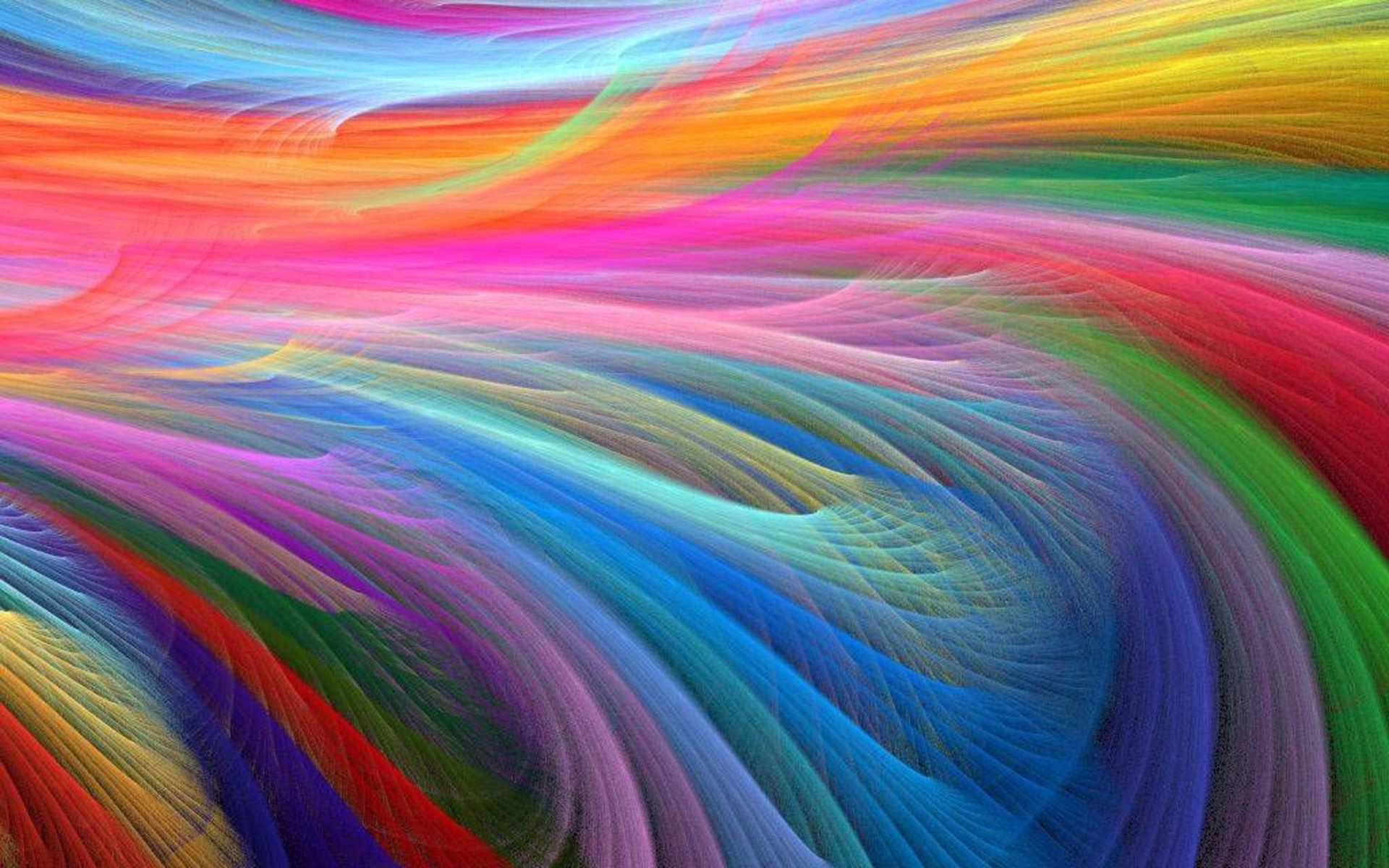 colored feathers awesome image