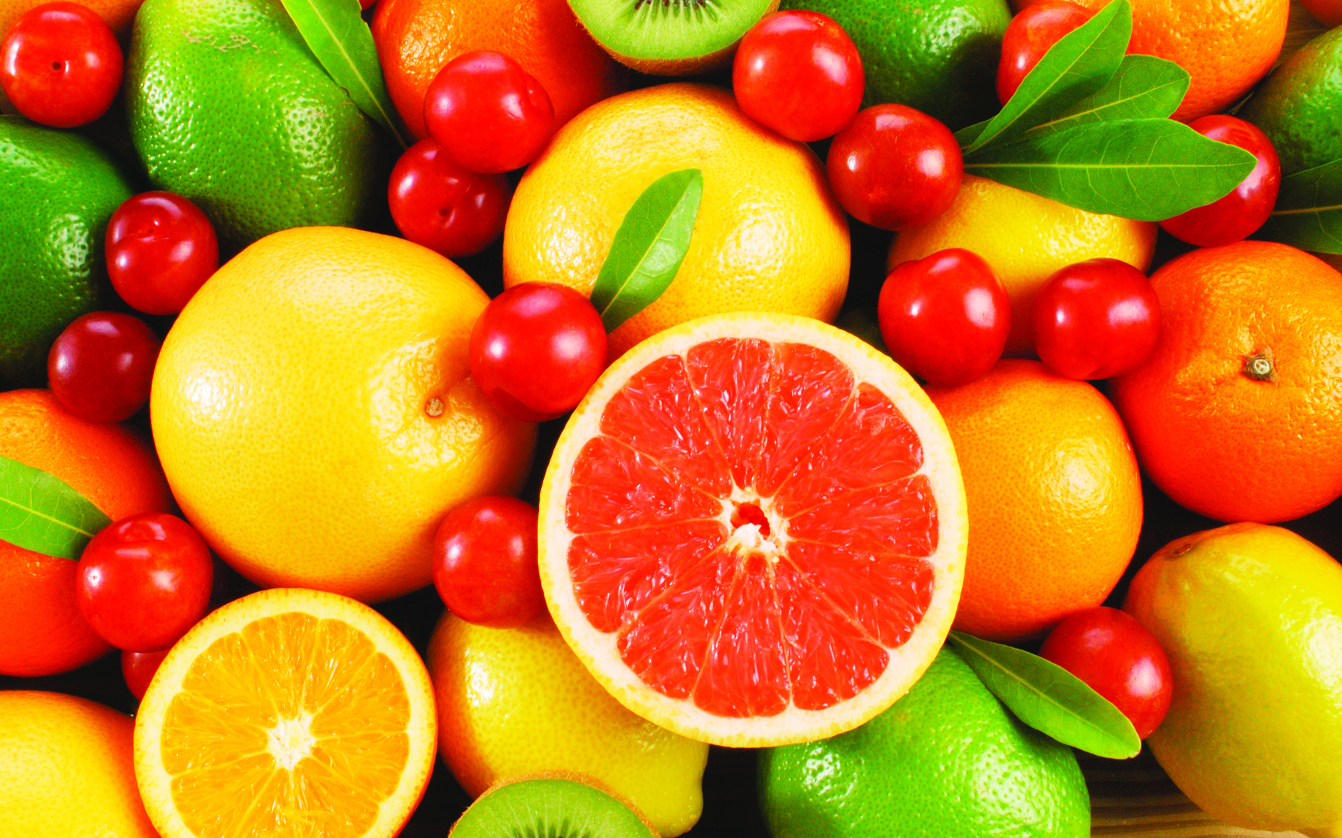 Colorful Fruit Wallpaper
