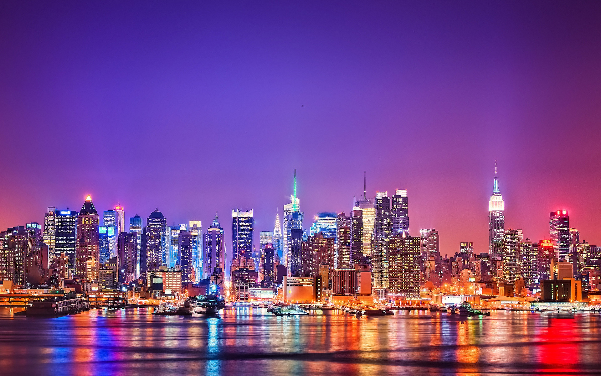 Colorful New York City