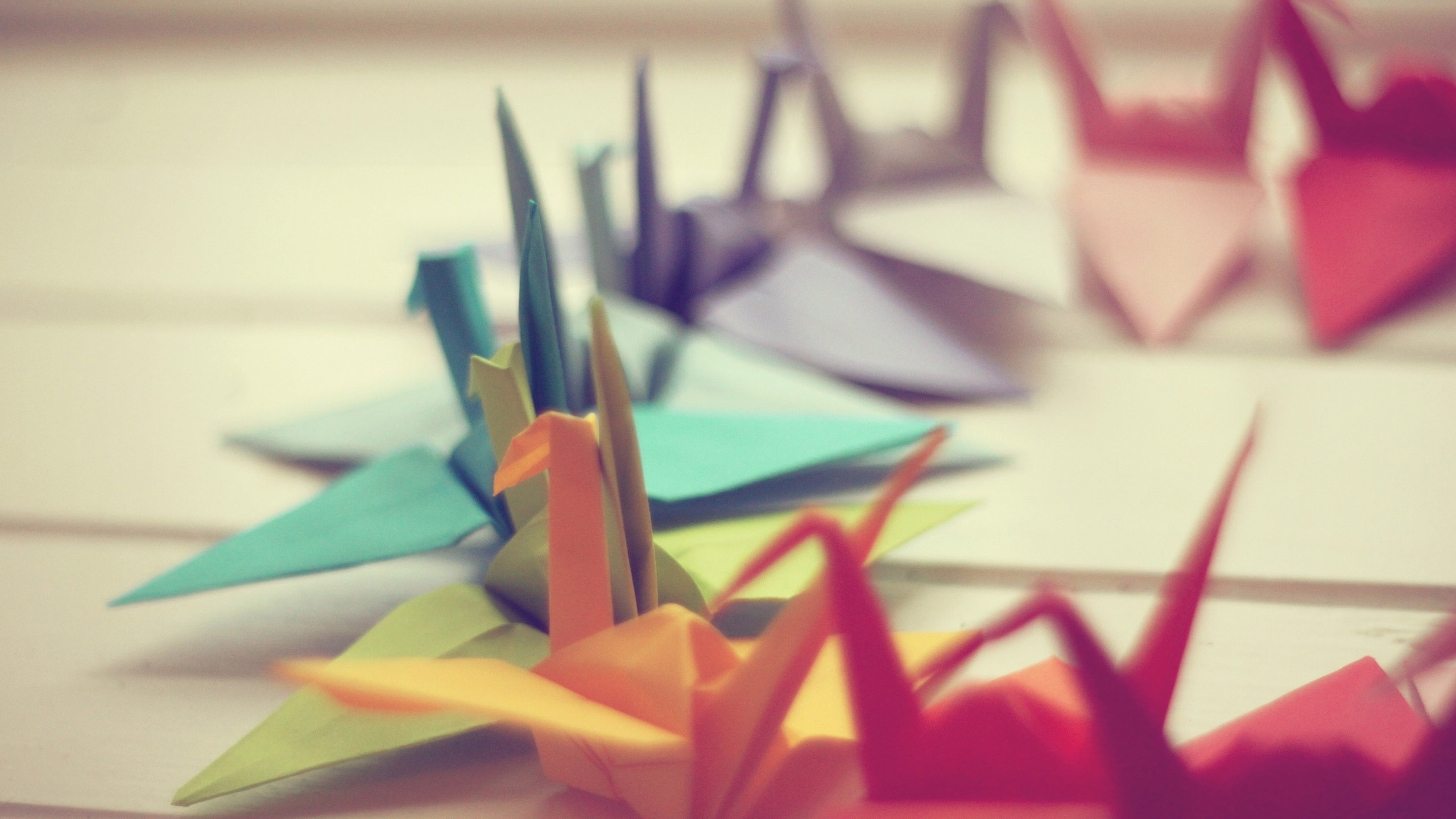 Colorful Origami Wallpaper