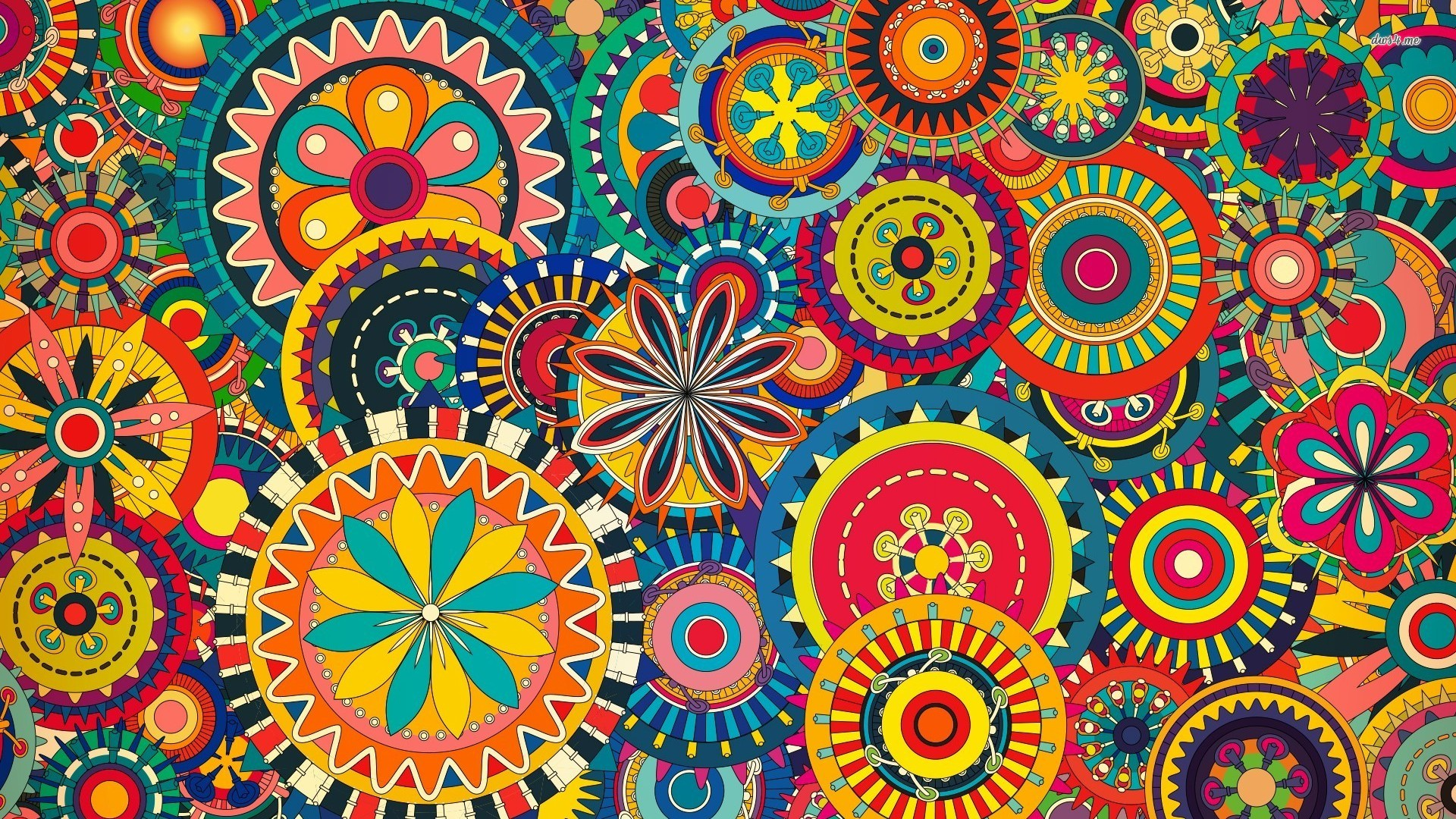 Colorful Pattern Backgrounds