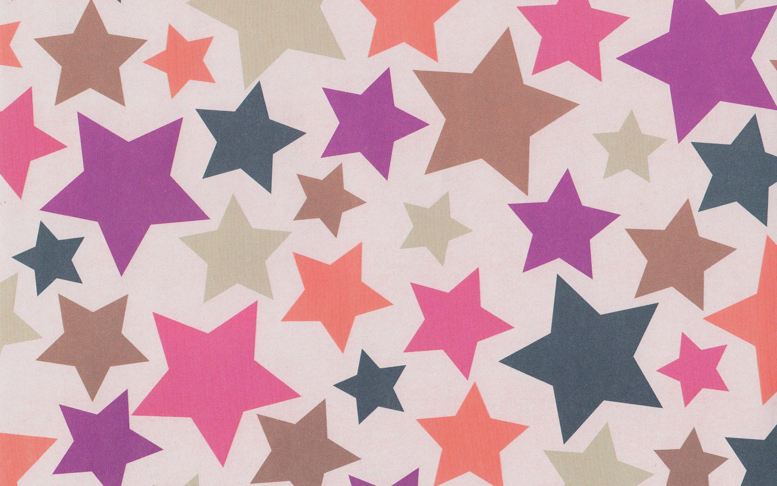 Colorful stars art