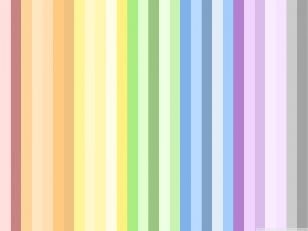 Colorful Stripe Wallpaper