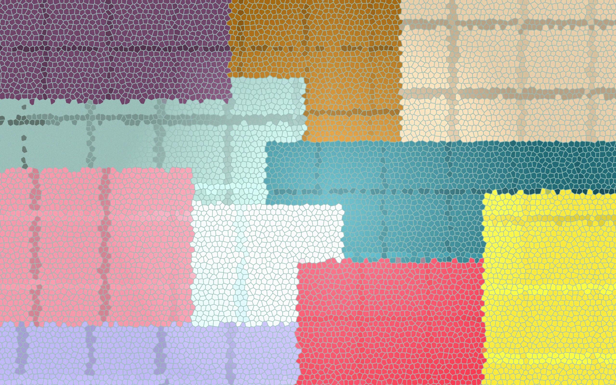 Colorful Tiles Wallpaper