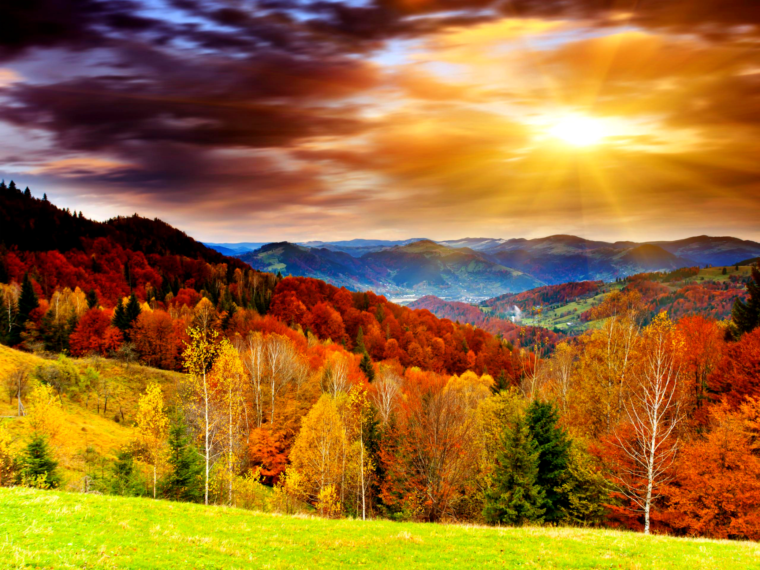 Colors Autumn Hd Images 3 HD Wallpapers