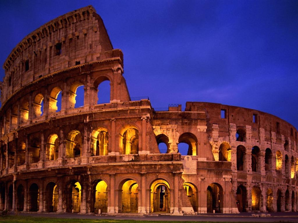 The Colosseum Wallpaper Wide Wallpaper