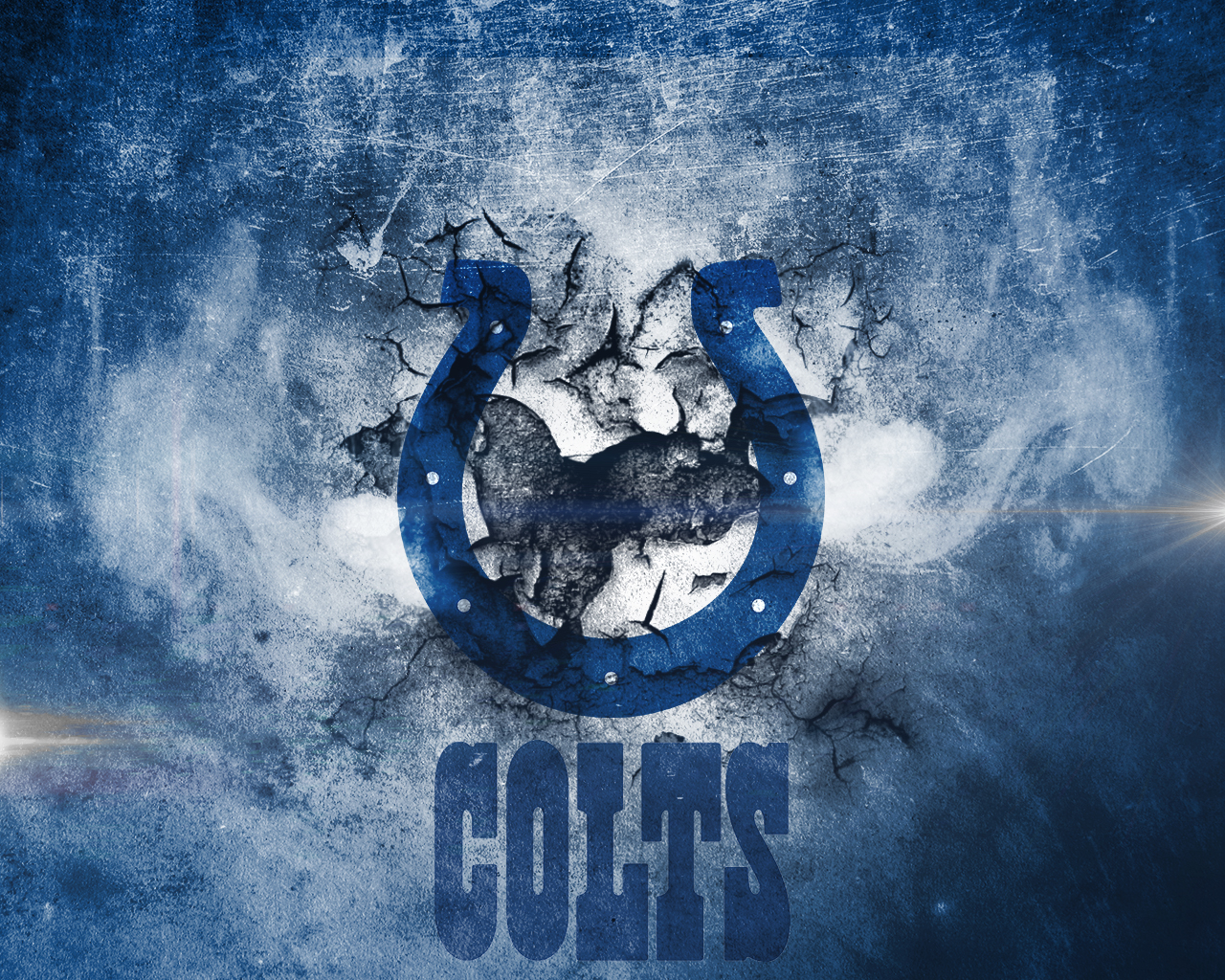 Group Of Colts Wallpaper 1