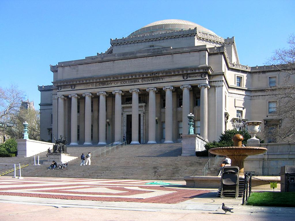 Columbia University (1896–present)[edit]