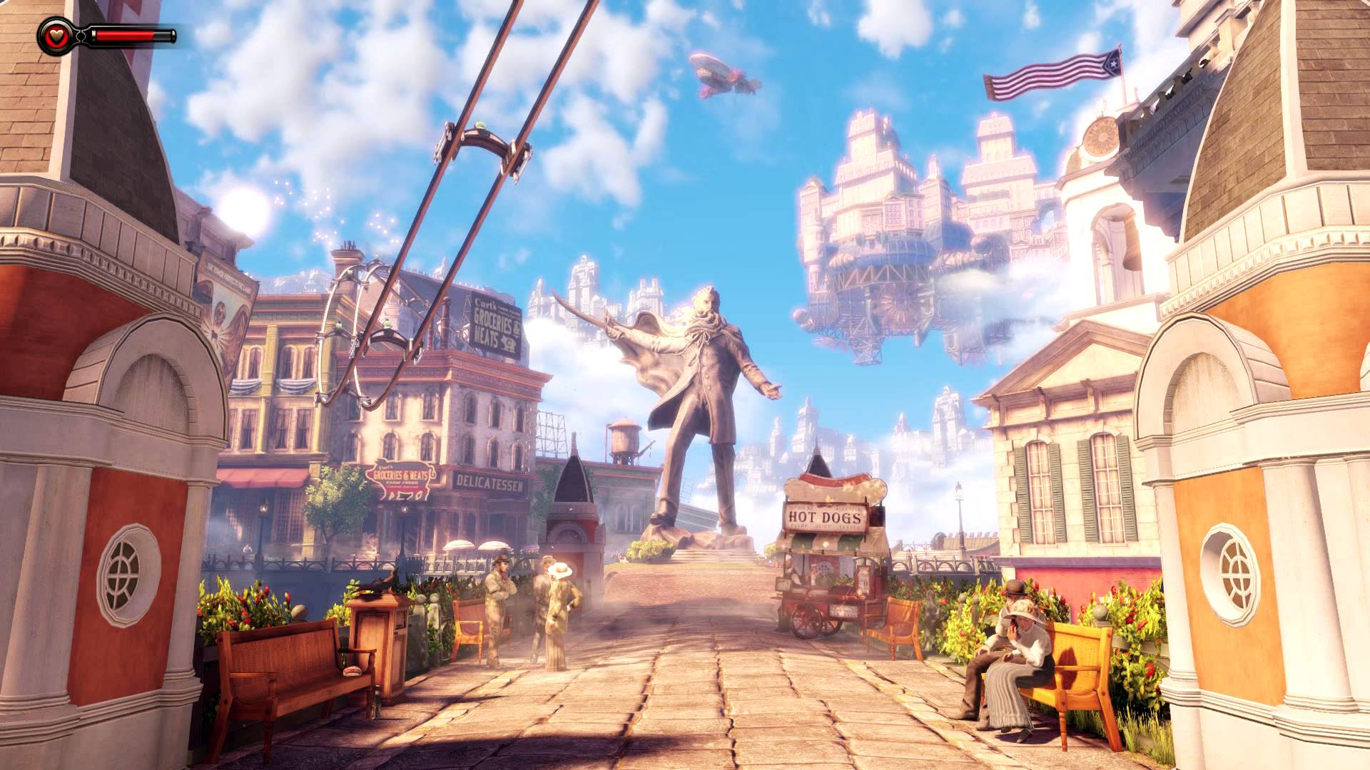DreamScene [Live Wallpaper] - Bioshock Infinite - Columbia (1080p)