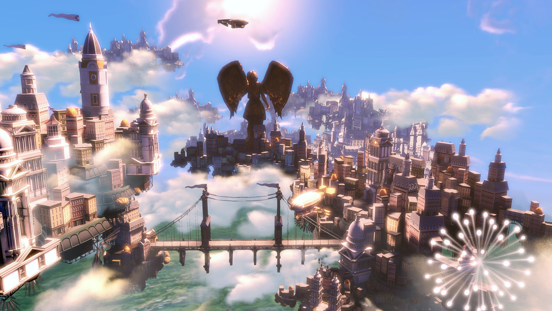 Image of Columbia from Bioshock Infinite