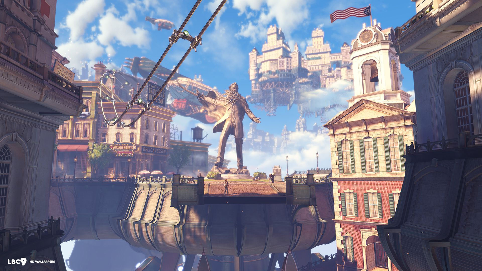 video game bioshock infinite city columbia