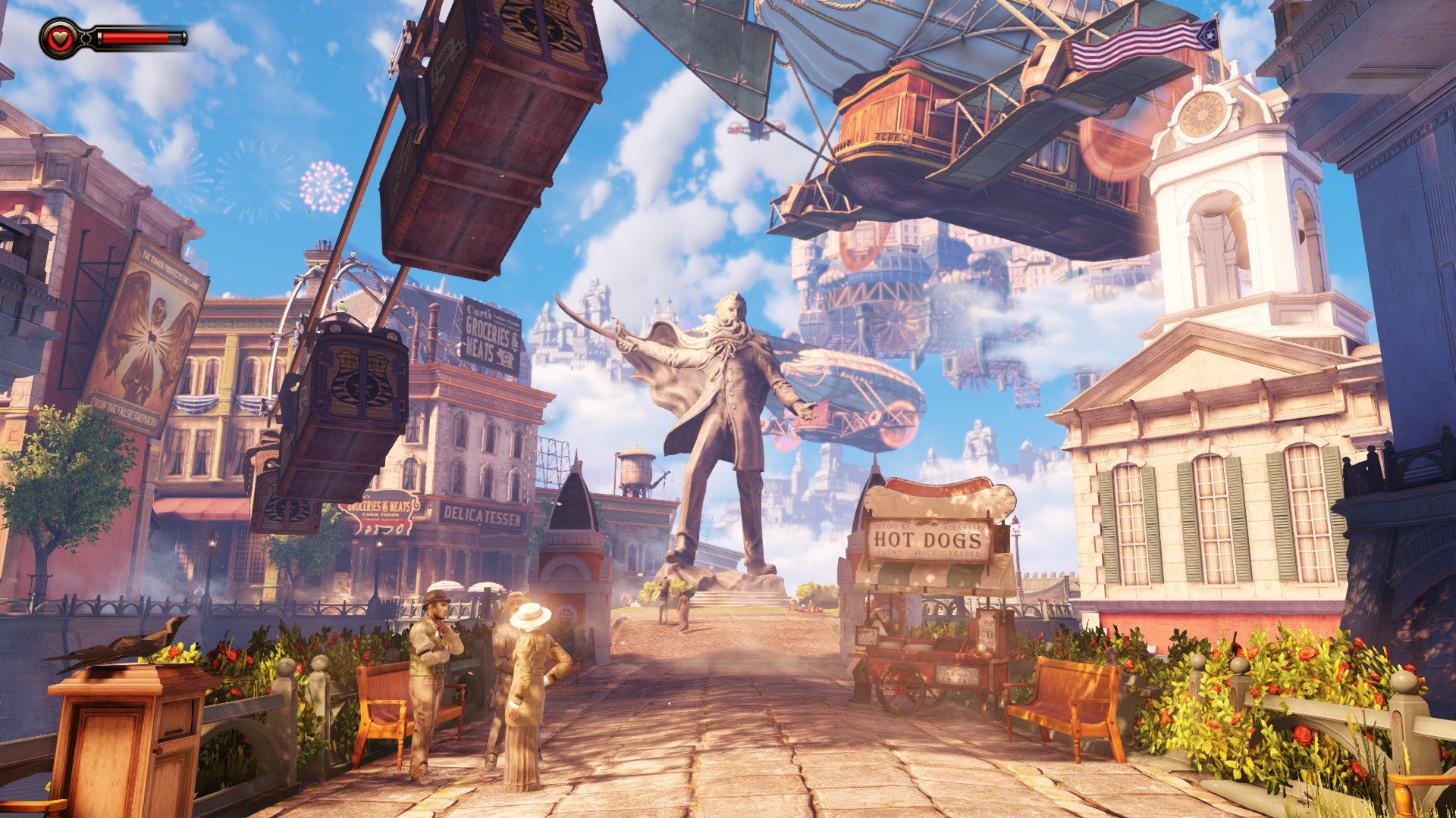 Bioshock Infinite Columbia Iphone Hd Wallpaper Your 1920x1080px