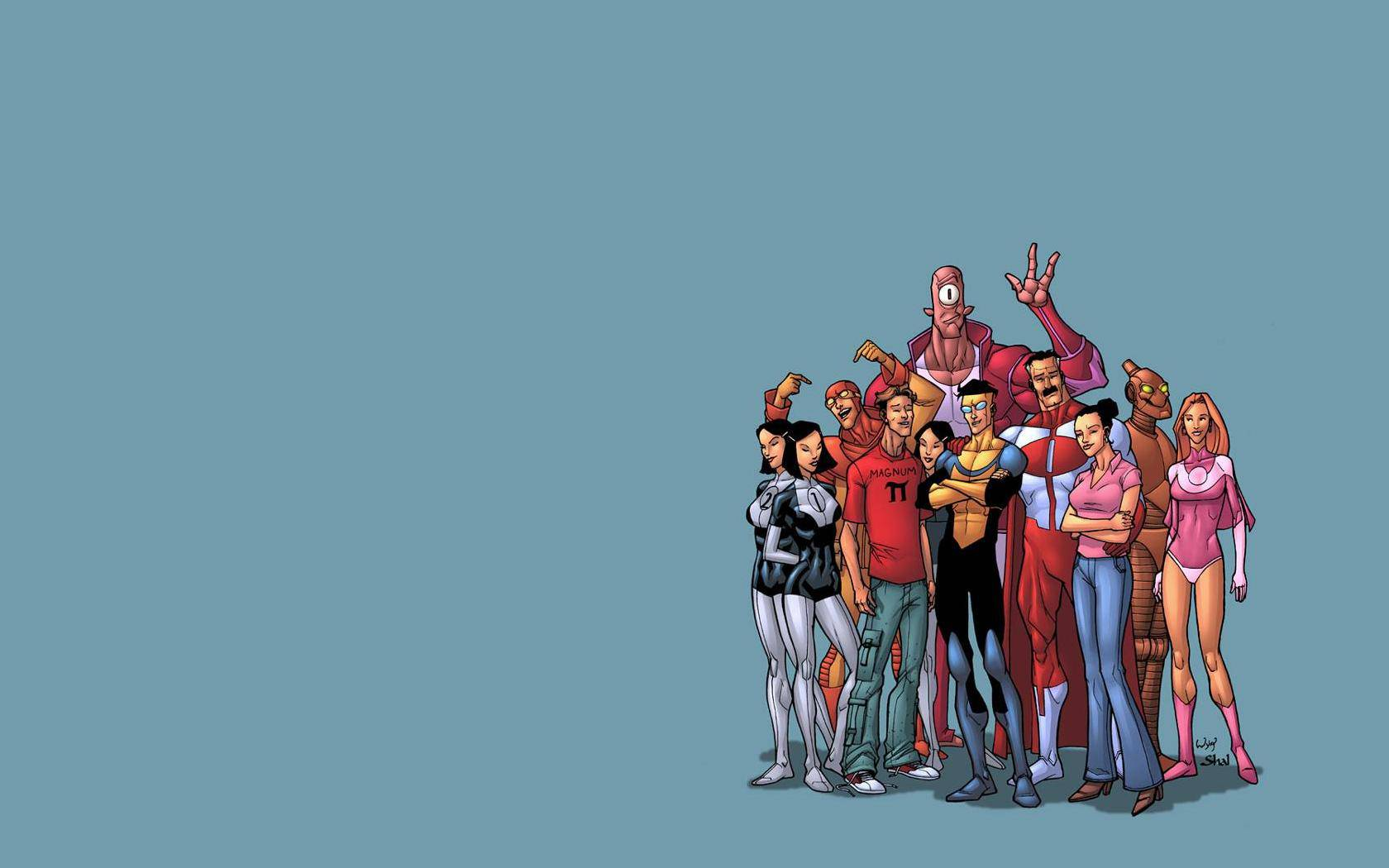 invincible comic wallpaper