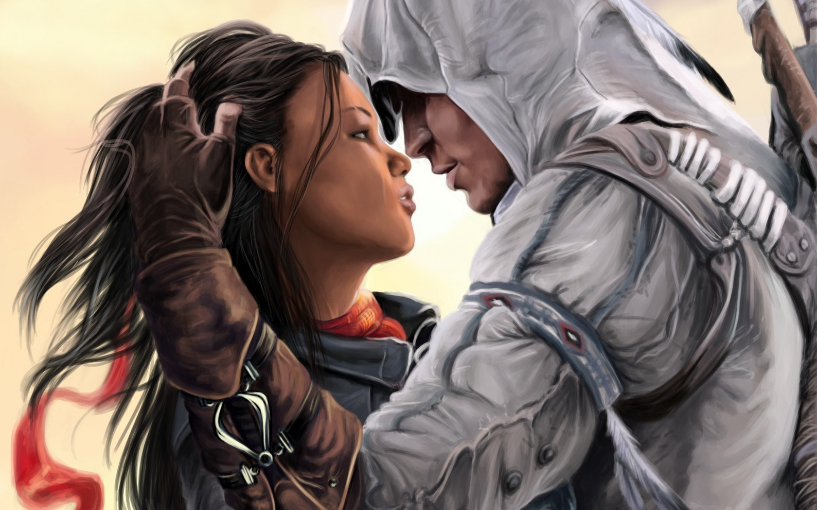 Connor Kenway and Aveline De Grandpre Artwork