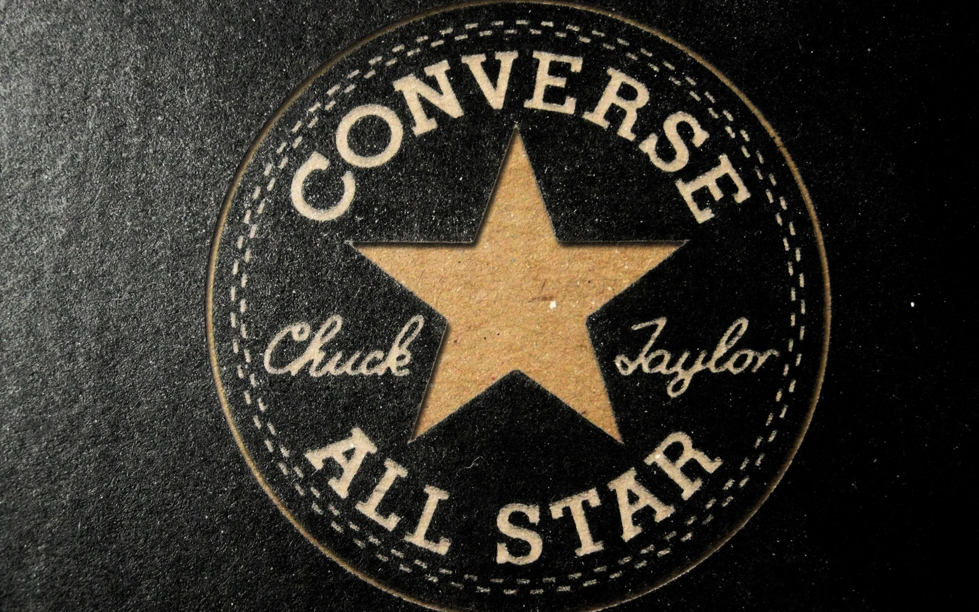 Converse All Star Logo Wallpaper HD
