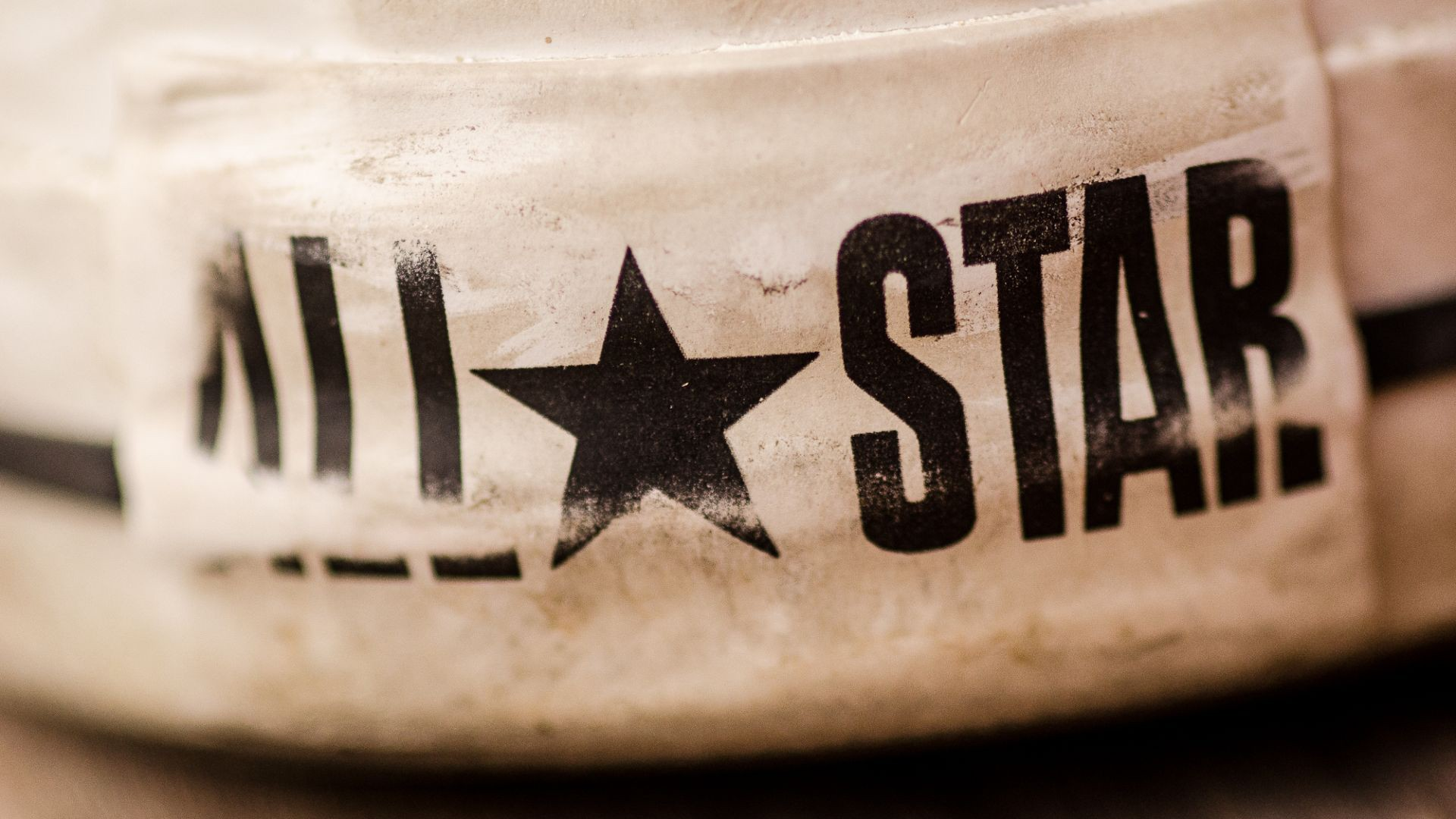 Converse Up Close Wallpaper
