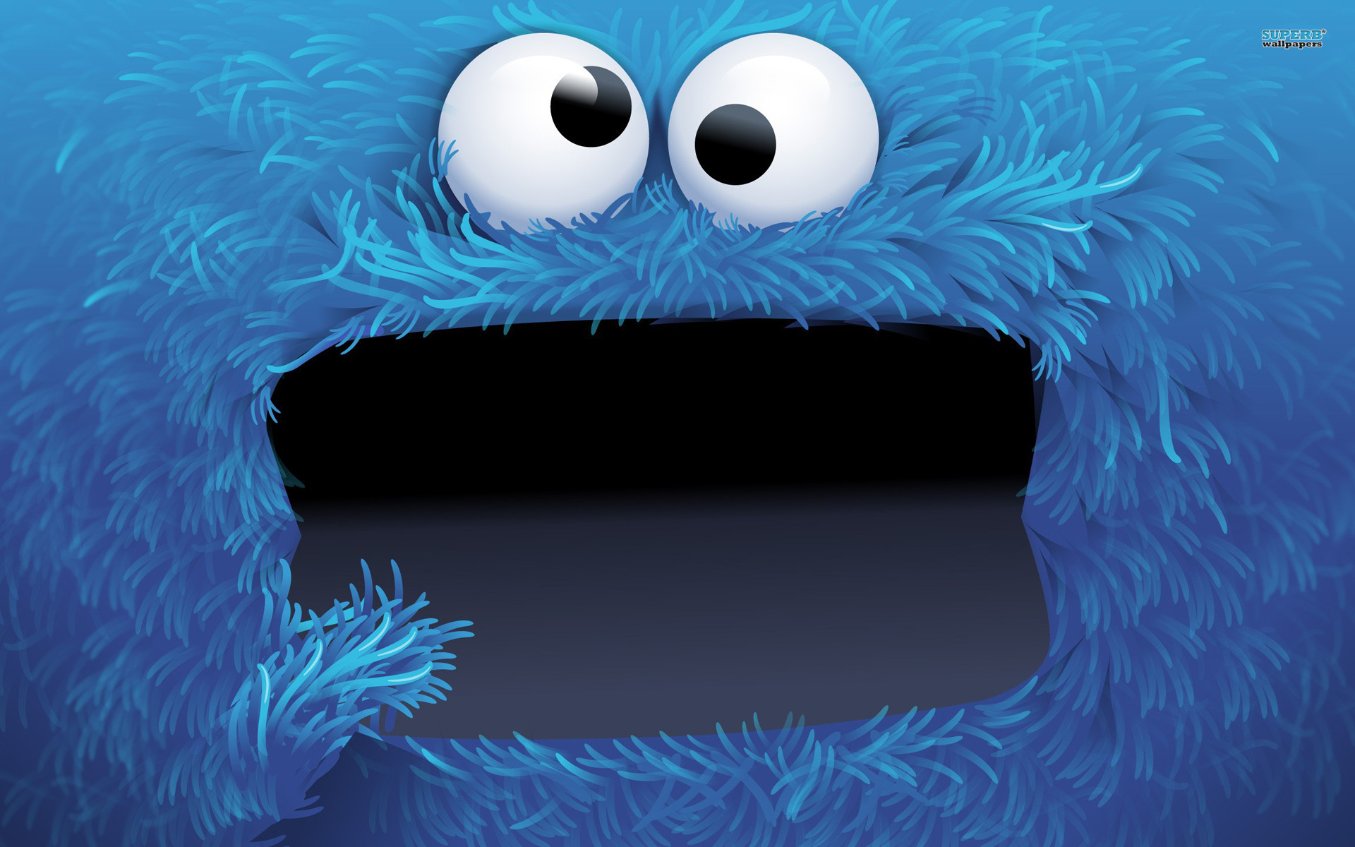 Cookie Monster wallpaper 1920x1200