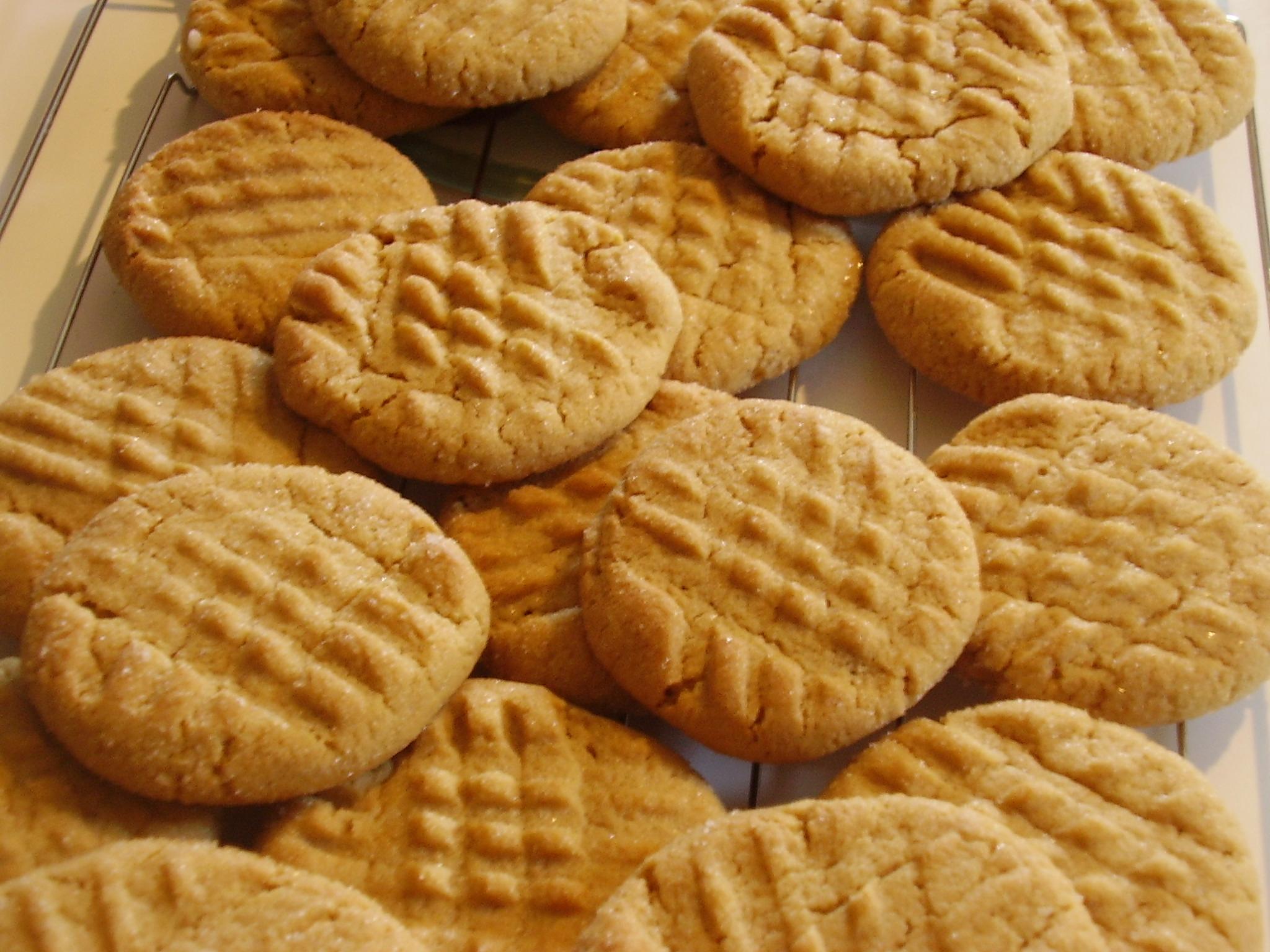 Big Batch Peanut Butter Cookies