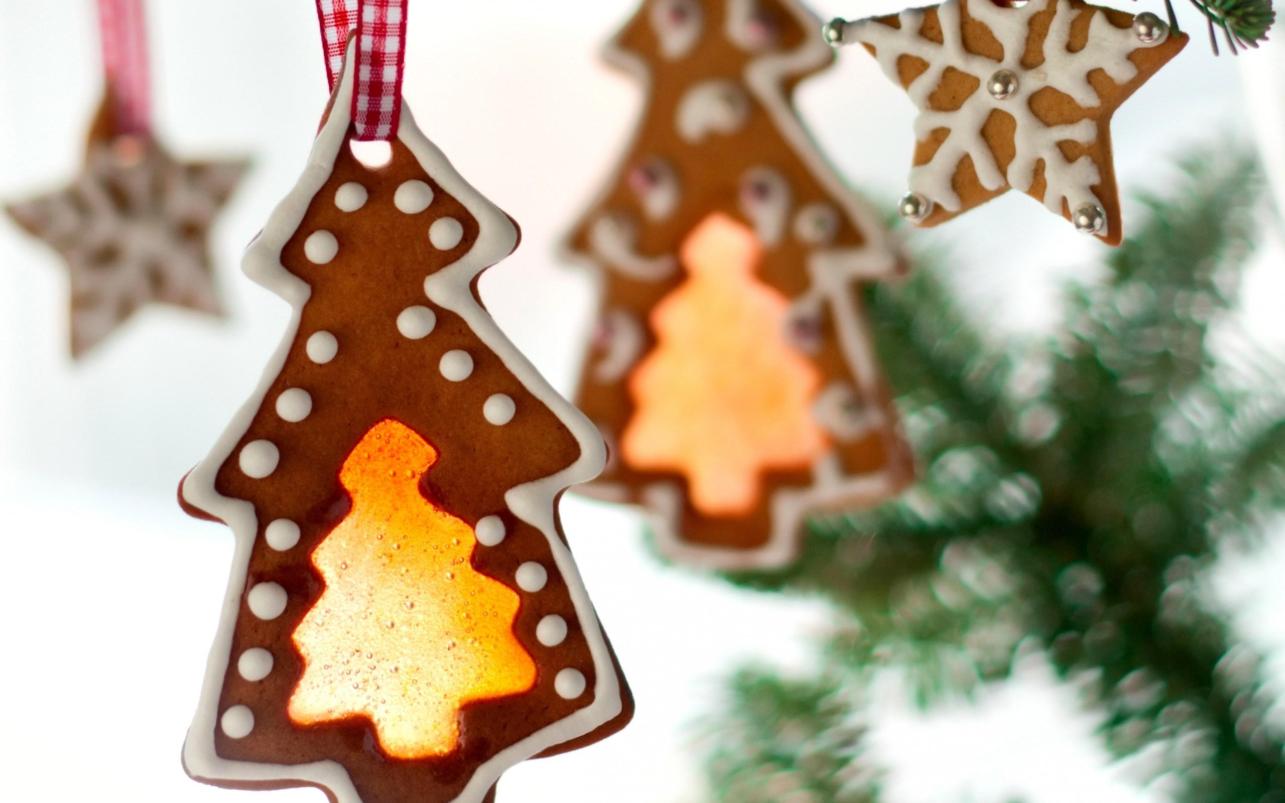 Cookies Christmas Trees Stars Sweets New Year