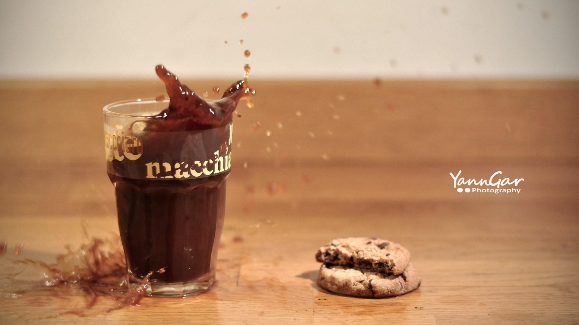 Cookies Drink Splash