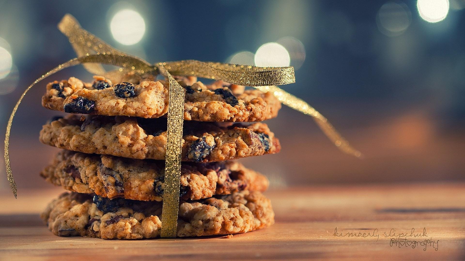 Cookies Raisin Ribbon Baking Macro