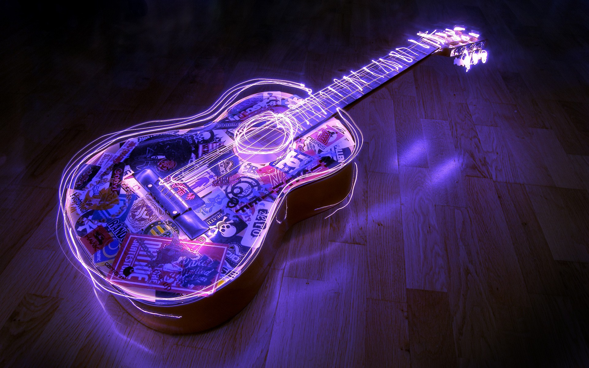 Cool Acoustic Wallpaper