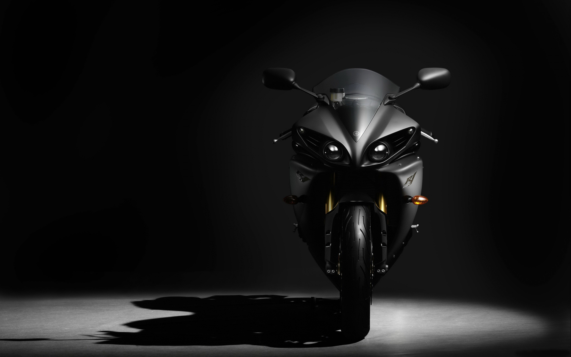 Cool Black Bike Wallpaper