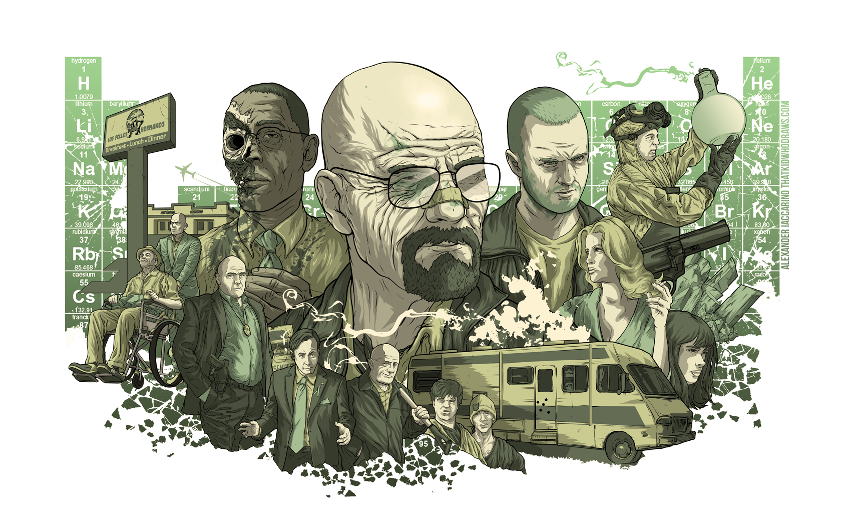 Breaking Bad Res: 1680x1050 / Size:1063kb. Views: 81995