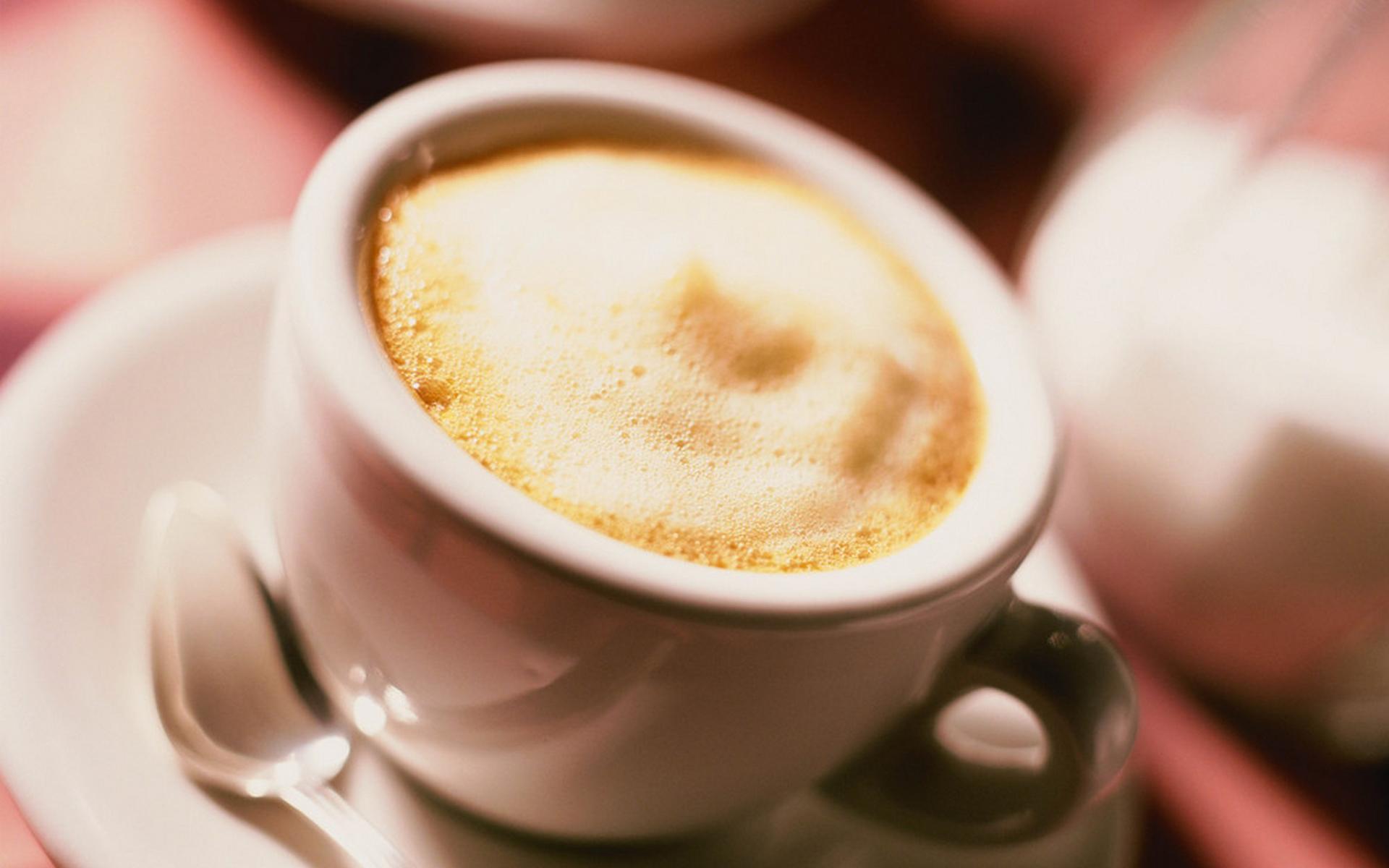 Cool Cappuccino Wallpaper