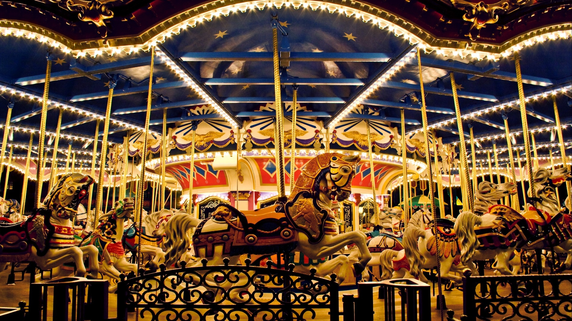 Cool Carousel Wallpaper