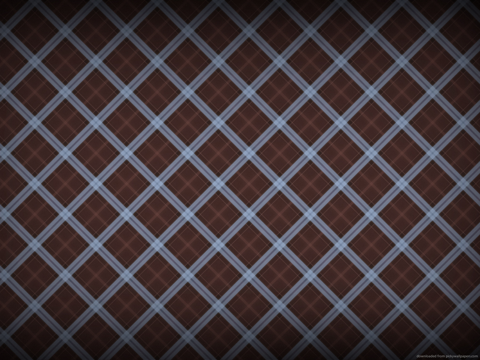 Image for Blue Checkered Wallpaper