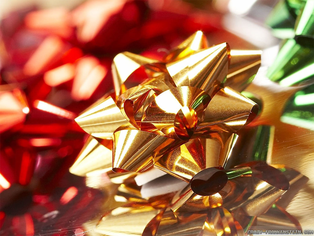 Cool Christmas Bow Wallpaper