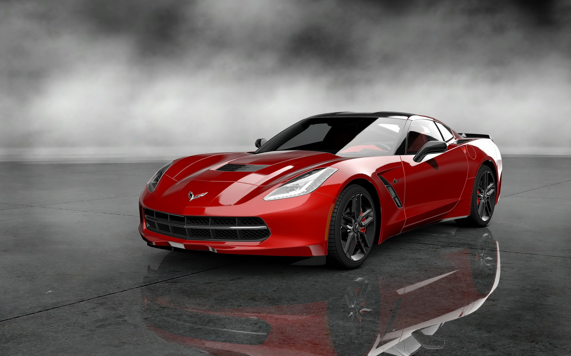 Cool Corvette Stingray Wallpaper