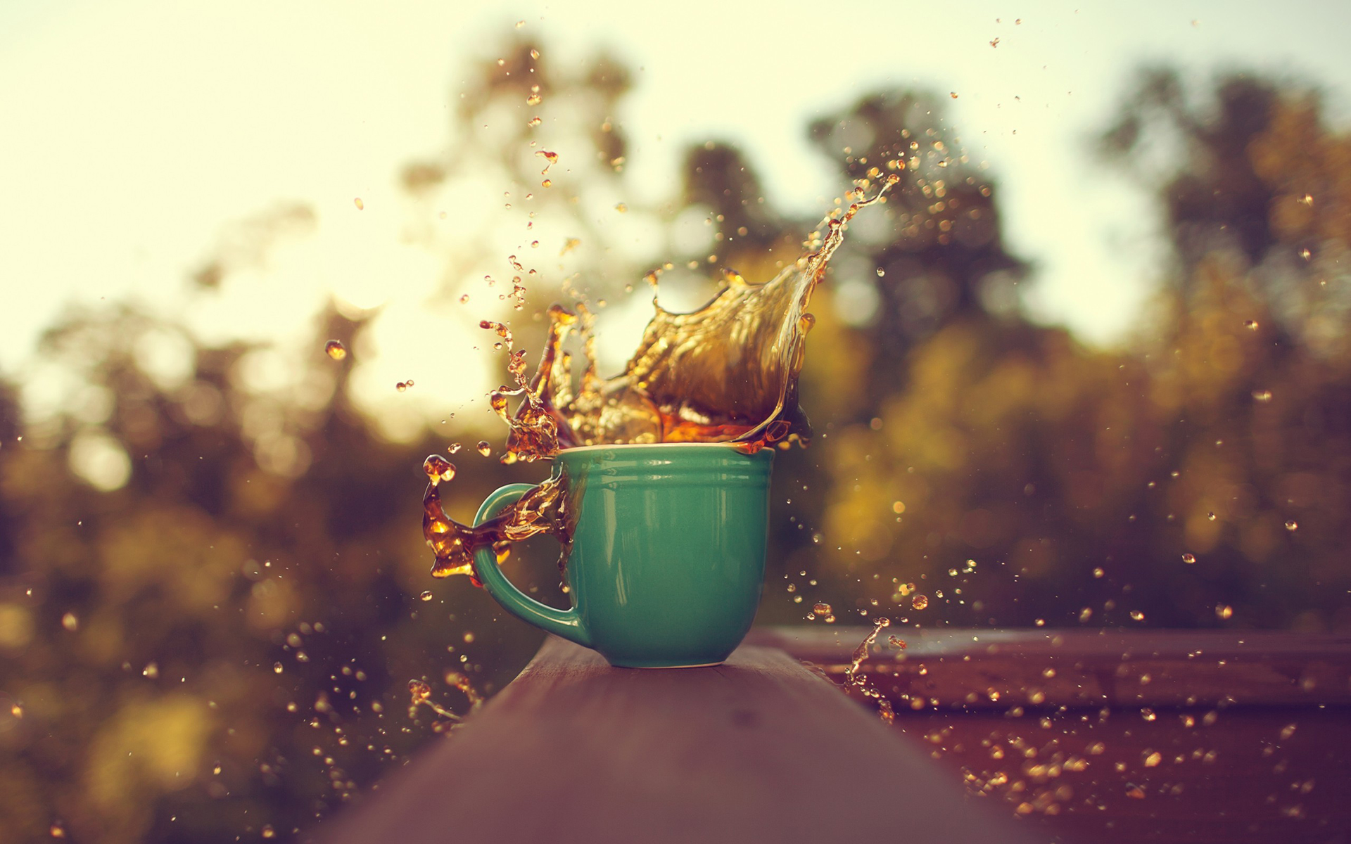 Cool Coffee Cup Wallpaper
