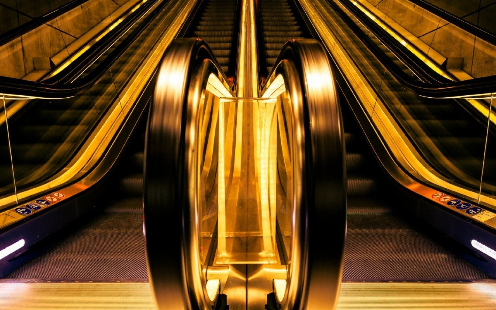 Cool Escalator Wallpaper