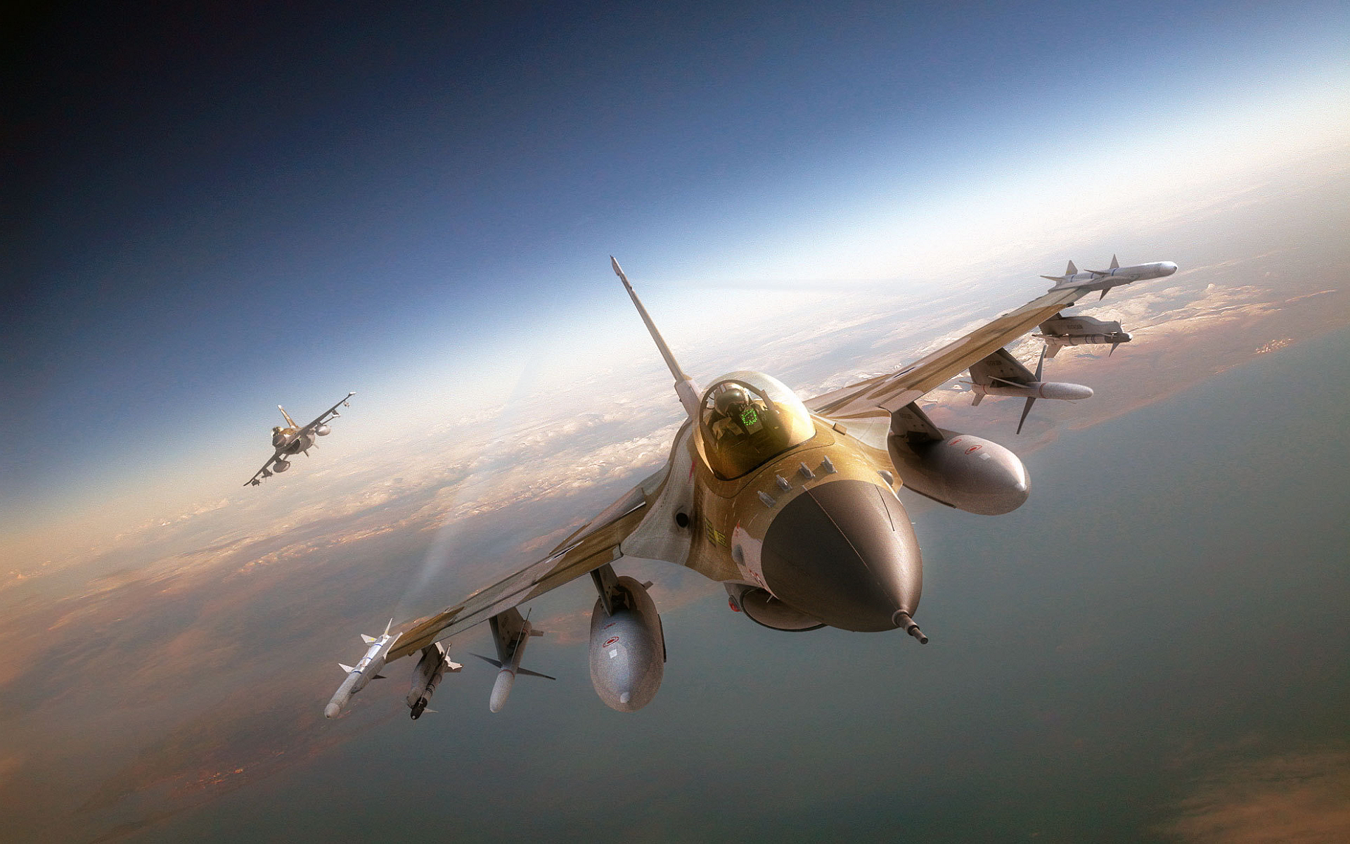 Cool F16 Wallpaper