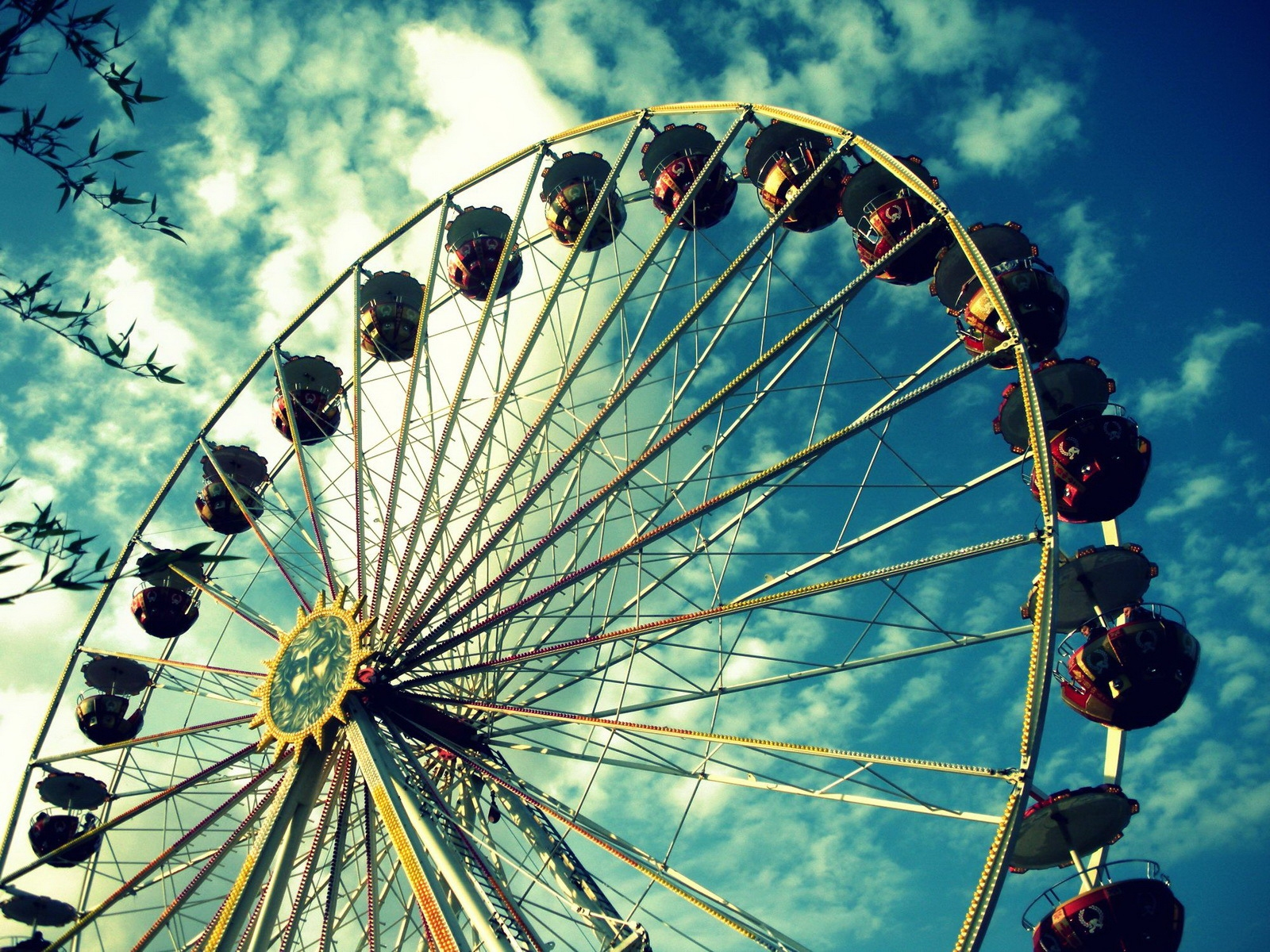 Cool Ferris Wheel Wallpaper