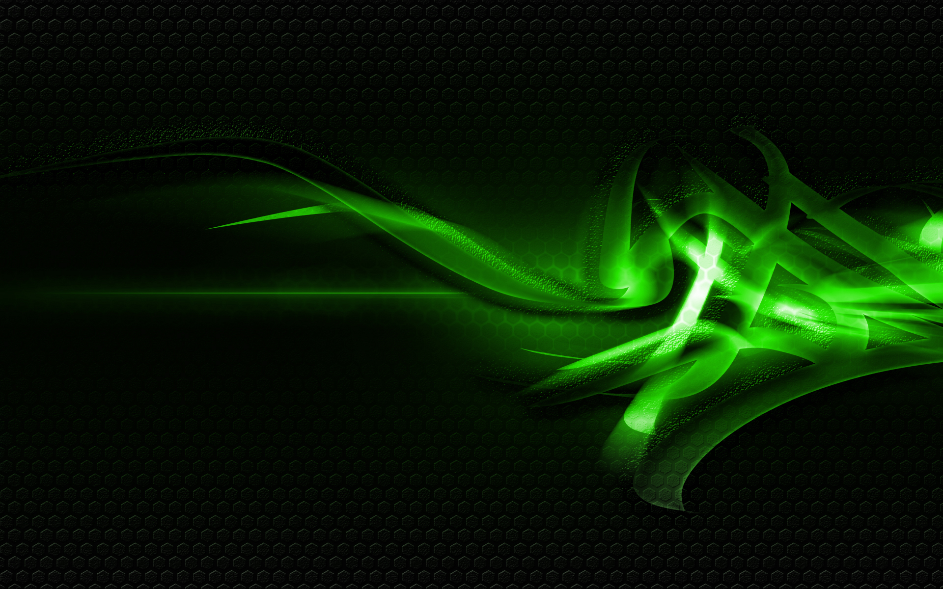 Cool Green Abstract Widescreen Wallpaper Hd Resolution 1920x1200px
