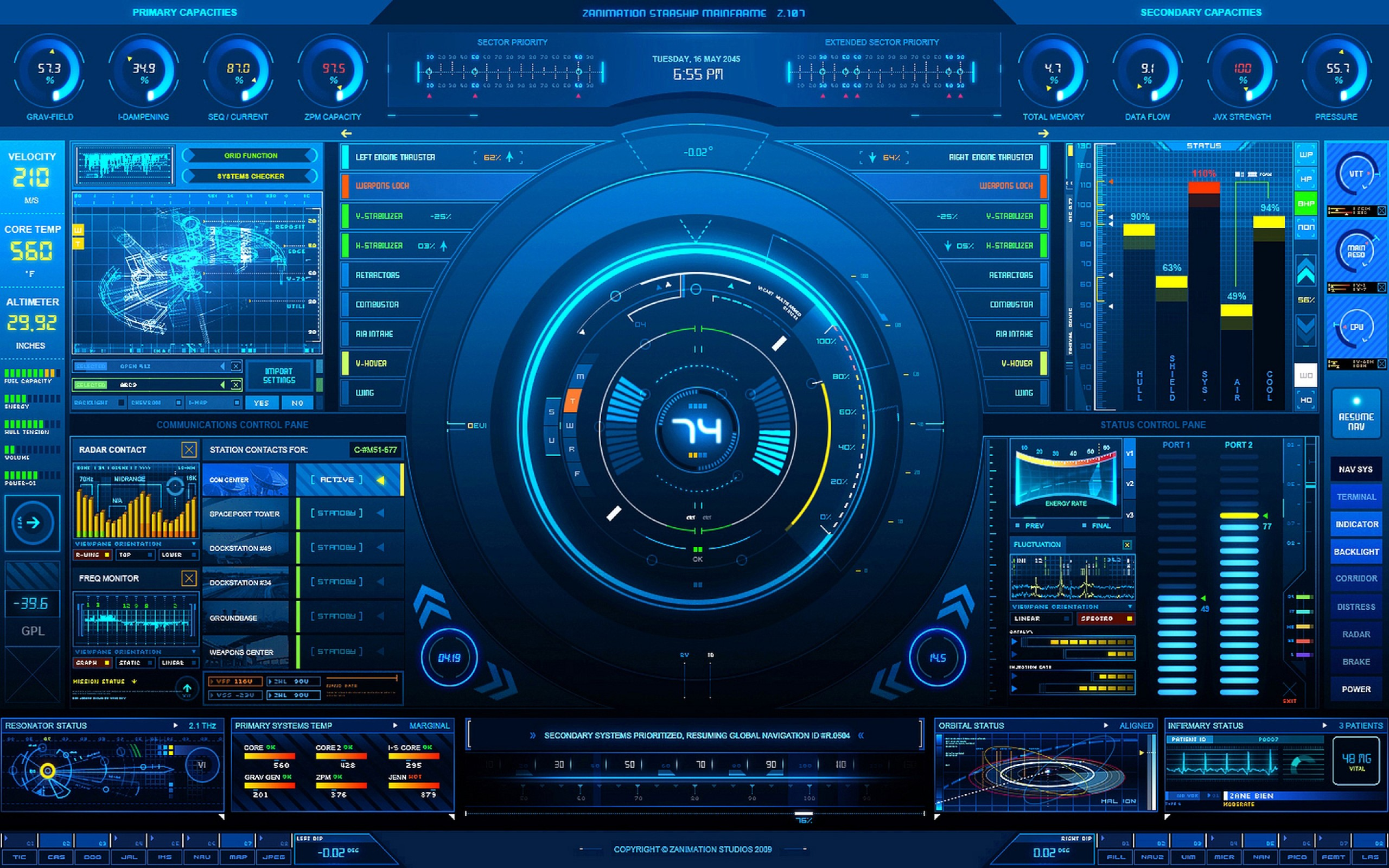 Cool High Tech Wallpaper 30878 1440x900 px