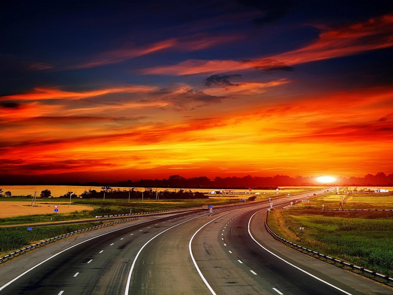 Cool Highway Wallpaper