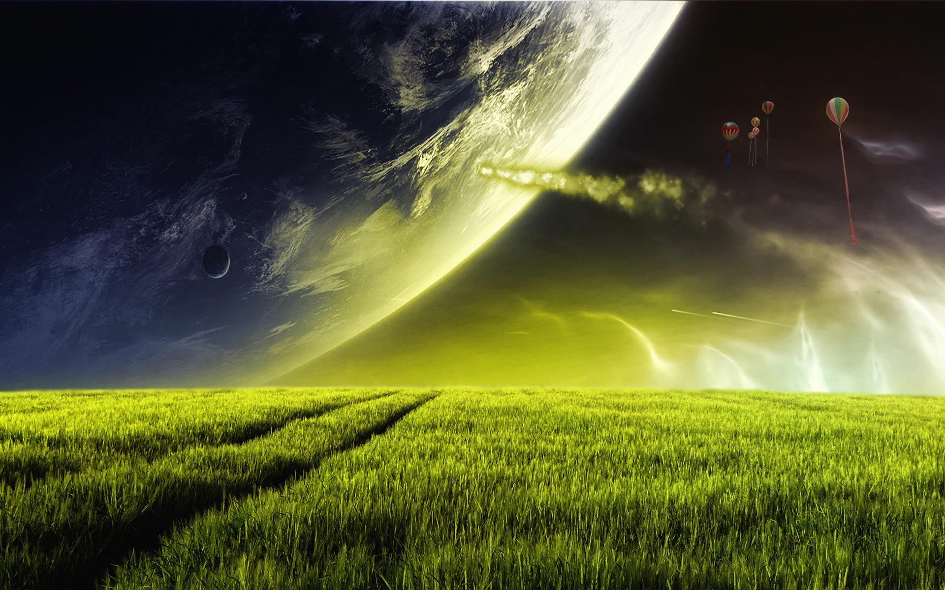 Cool Green Landscape
