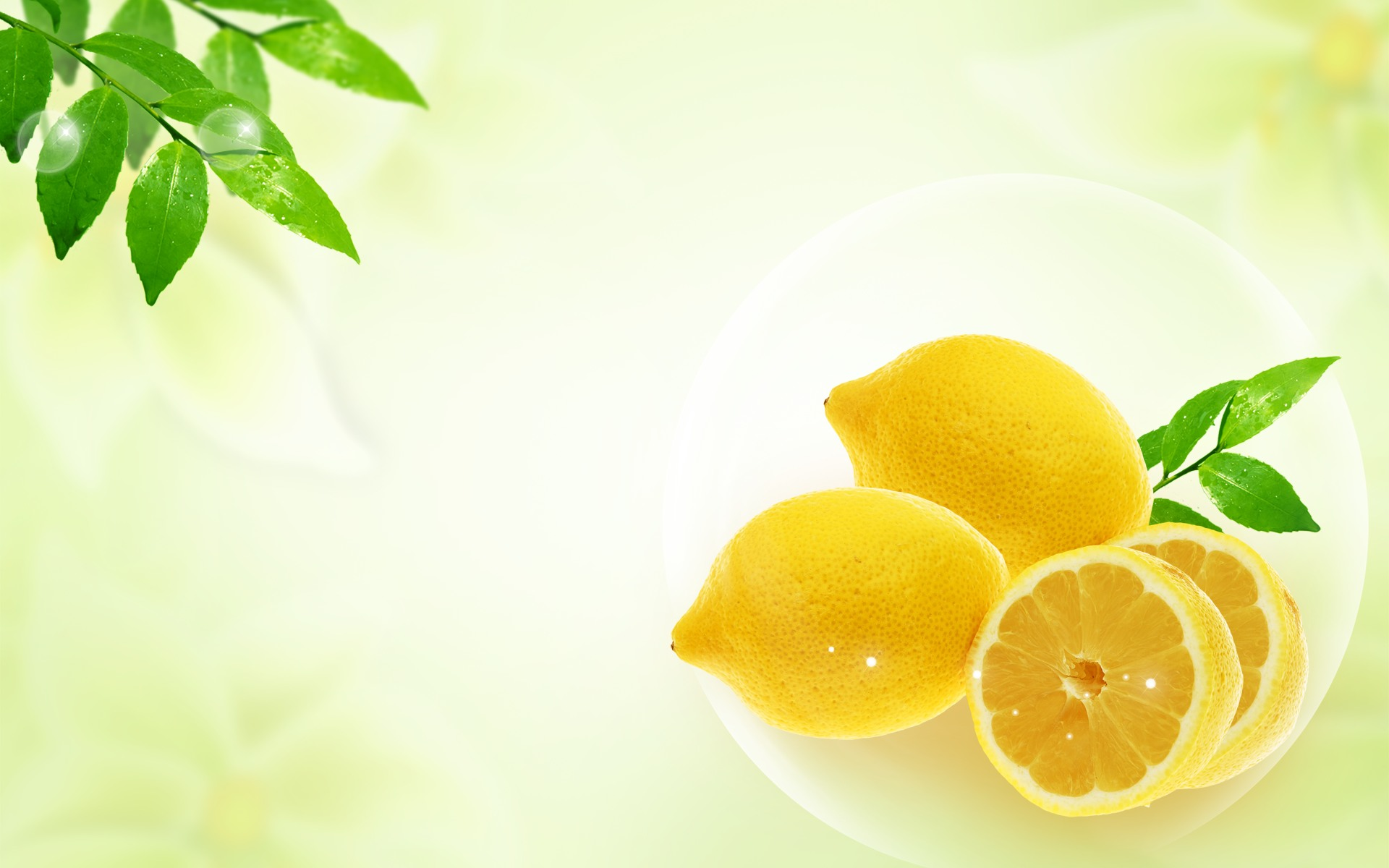 Cool Lemon Wallpaper