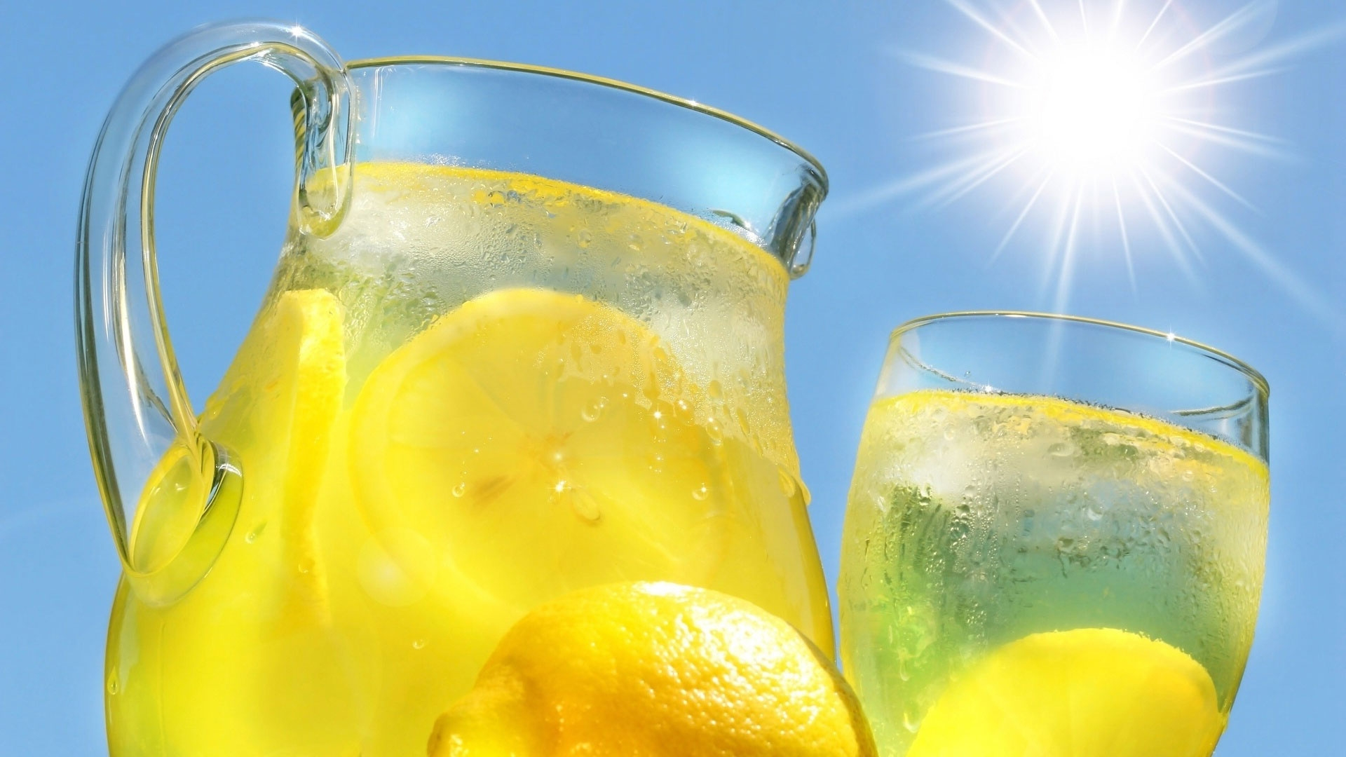 Cool Lemonade Wallpaper